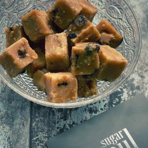 Indulgent fruit & nut fudge pieces