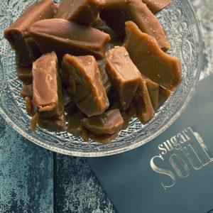 Rich & creamy Lancashire toffee slab pieces